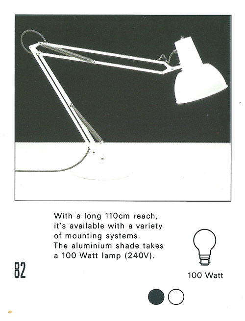 Lamp rewire anglepoise Original Early